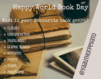 World Book Day Instagram