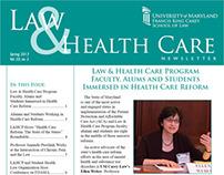 Law & Health Care Program Newsletter