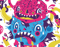 Toxic Brain tee