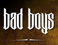 Bad Boys font