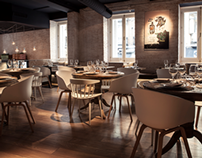 Interior Design & Identity - Sexto Restaurant