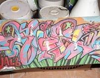 graffiti ijal8