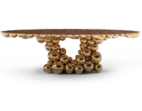 NEWTON GOLD MYRTLE TABLE | LIMITED EDITION