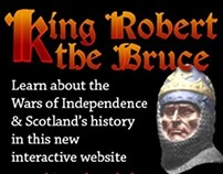 King Robert the Bruce website