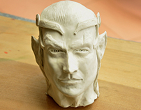 Clay Elf Head