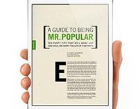 Modern Gent: ePub + Magazine