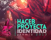 HACEB PROYECTA IDENTIDAD 2013