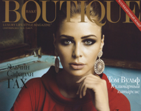 BOUTIQUE magazine september issue editorial