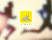 Adidas run radio