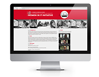 Women in IT Website & Infographic
