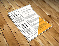 Free Resume Template for Present your Profile