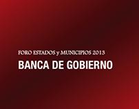 Evento Banca de Gobierno Render 3D