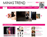 Layout Minas Trend Magazine
