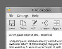 Dacuda Scan-Software Redesign