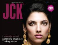JCK (Jewellery Magazine) : Art Direction + Cover Design