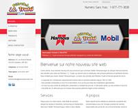 Site Web Pétroles J. C. Trudel