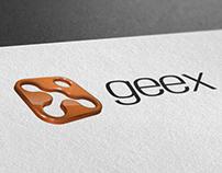 geex logo - 3D redesign