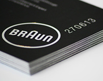 Braun °CoolTec -  Invitation