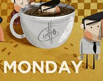 Monday.. wake up