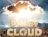 Pillar of Cloud Church Flyer Template