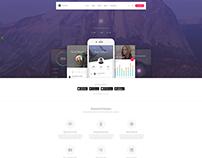 Metheor - Bootstrap App Template by rokathemes
