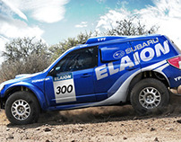 Subaru Elaion Rally Dakar