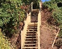 Hillside Staircase