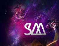 SM //Logotype & Poster
