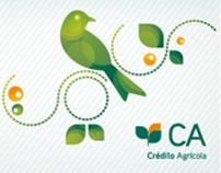 Crédito Agrícola // Ilustrações