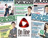 Projeto para Editora Online - Capas