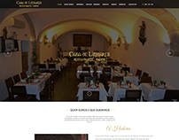 Casa de Linhares Website