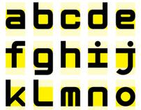 Type3 : Mono space geometric font