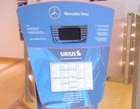 Sirius Satellite Radio Kiosks