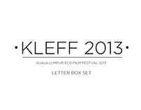 KLEFF 2013 Letter Box Set