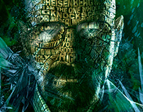 Breaking Bad - Walter White -Typographic Art