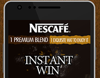 Nescafe Instant Win Mobile App