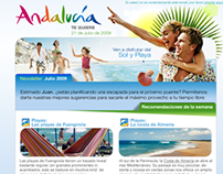 Turismo Andalucia Newsletter