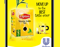 Instant Win Application for Lipton Tea