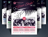 Hair Salon Flyer - Creative
