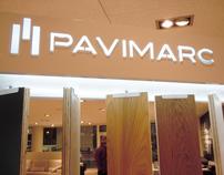 Parquet exhibitor for 'Pavimarc'