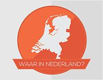 Waar in Nederland? (Where in the Netherlands?)