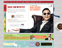 PSY Korean Dictionary Website