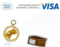 VISA Prepaid Travel Card