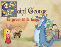 Saint George, interactive book for iOS