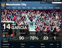 MCFC Player Pages