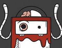 Robot Vector Doodles