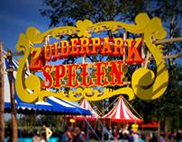 Sign painting - Zuiderparkspelen 2013