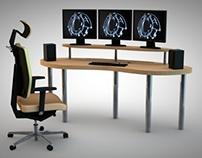 Computer Gamer's Desk