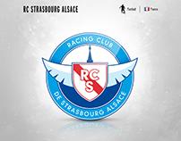 RC Strasbourg Alsace | logo redesign