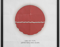 Print Design - The Rising Sun Poster Project (V1)
